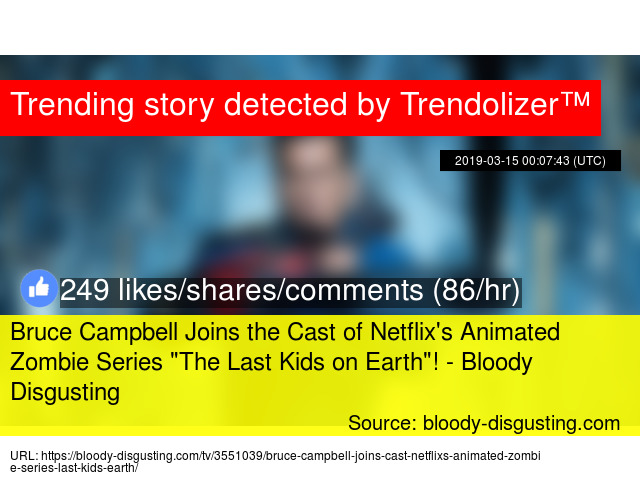 Bruce Campbell Joins the Cast of Netflix'