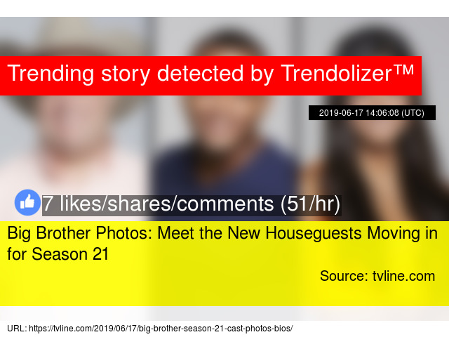 Big Brother Photos: Meet the New Houseguests Moving in for