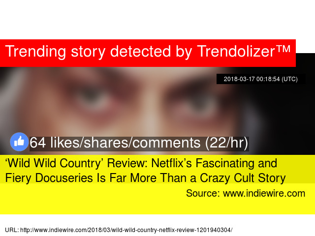 wild wild country review