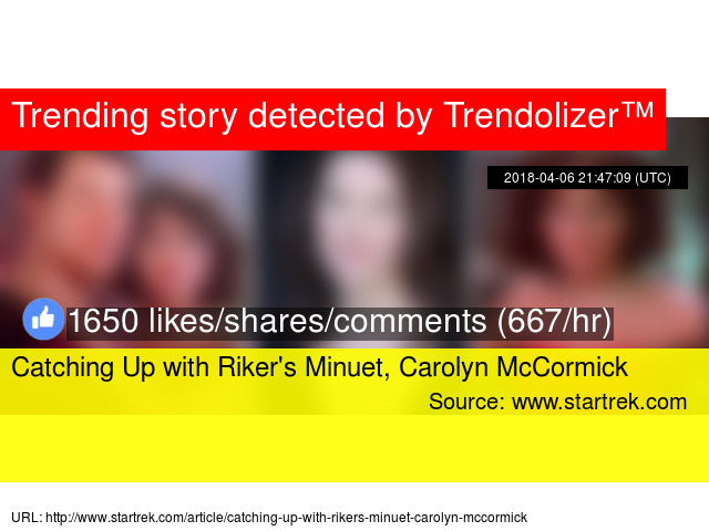 Catching Up With Rikers Minuet Carolyn Mccormick